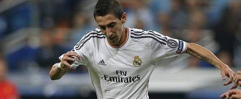 Cavani backing PSG bid for Real Madrid winger Di Maria