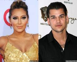 Adrienne Bailon Reacts to Kim Kardashian's Tweet About Rob Kardashian