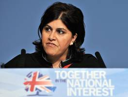 baroness warsi's twitter obsession with gaza is dishonest and poisoning the minds of tories