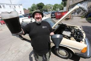 Smell french fries? This Toronto restaurant owner's 1981 Mercedes Benz runs on deep fryer grease