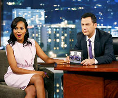 Kerry Washington And Jimmy Kimmel Reveal They Both Named Their Daughters After Their Grandmothers